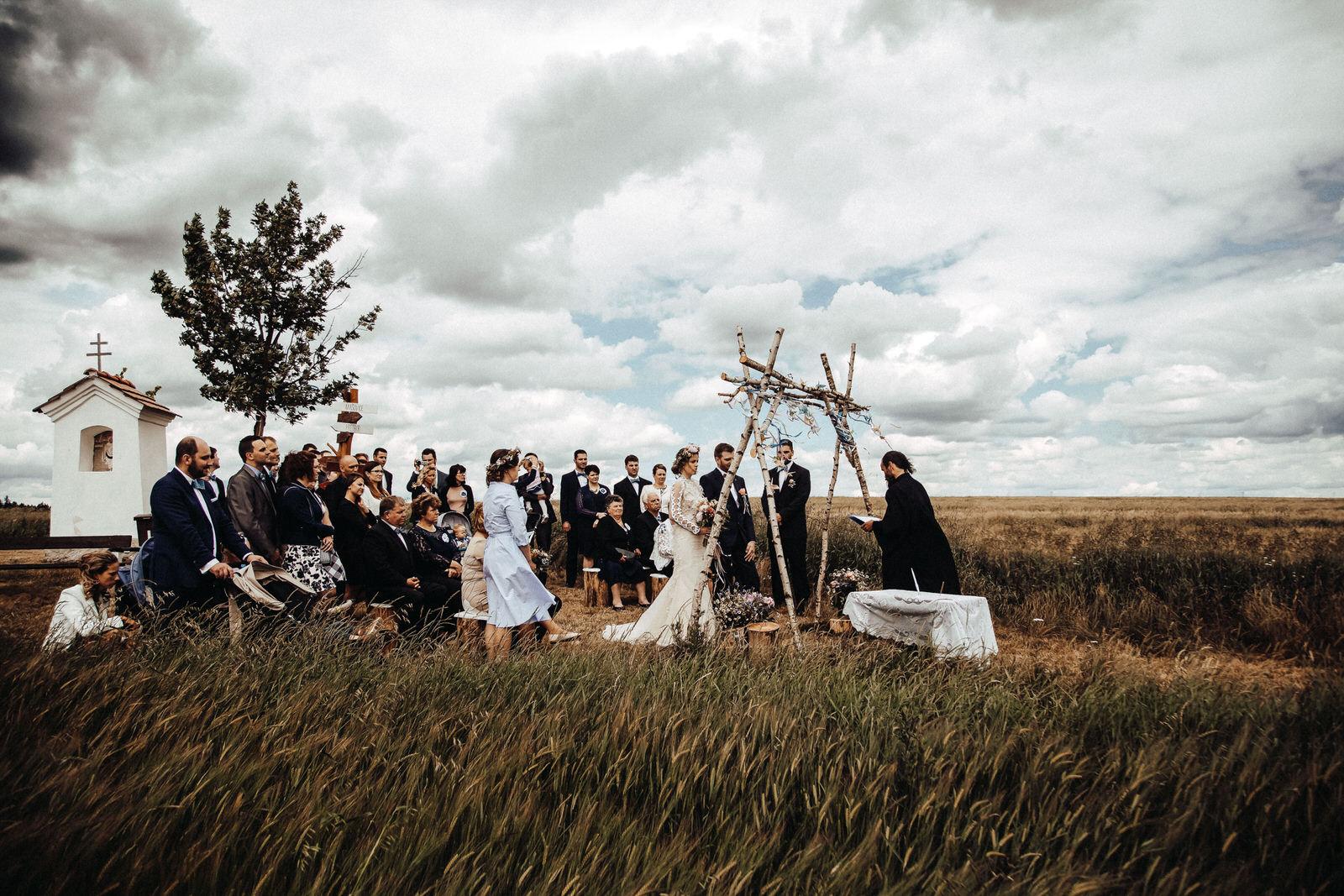 Bořetínský statek svatba